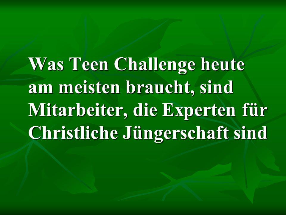 Zehn Schlüssel zu Christlicher Jüngerschaft 5.Aus freier Wahl, nicht aus Zwang 6.