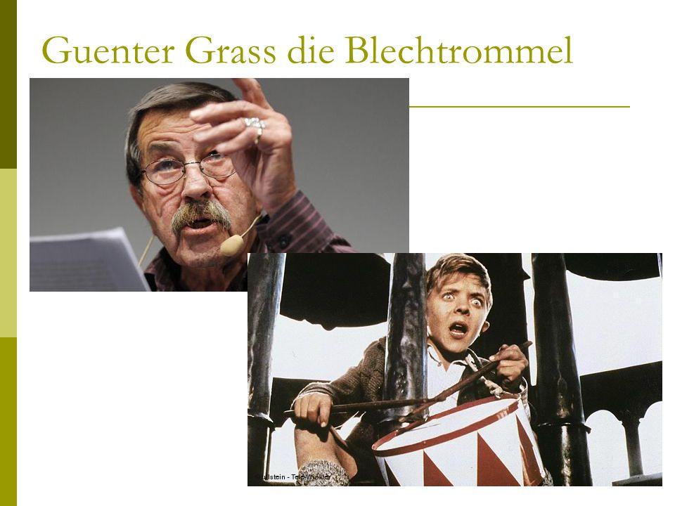 Guenter Grass die Blechtrommel Cinzia Galassi. Lingua e traduzione tedesca 1 15