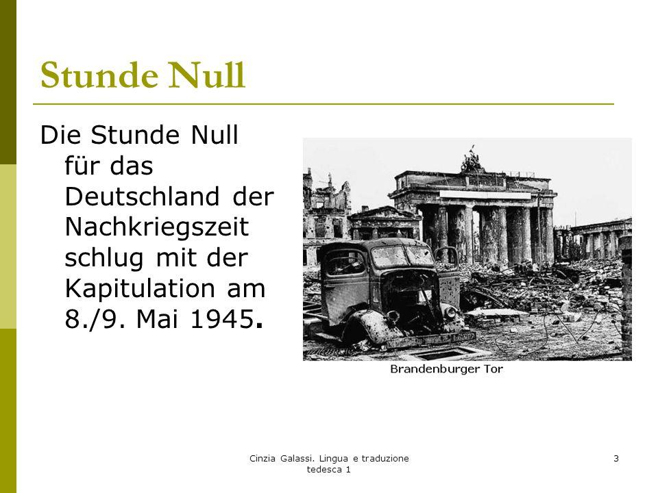Bundesrepublik Deutschland BRD- DDR vor der Wiedervereinigung