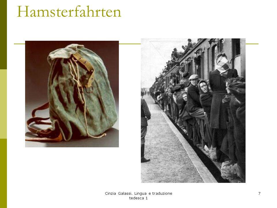 Hamsterfahrten Cinzia Galassi. Lingua e traduzione tedesca 1 7