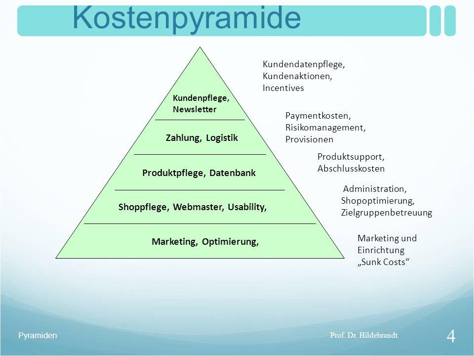 """Pyramiden Kostenpyramide Marketing und Einrichtung """"Sunk Costs Paymentkosten, Risikomanagement, Provisionen Produktsupport, Abschlusskosten Administration, Shopoptimierung, Zielgruppenbetreuung Prof."""