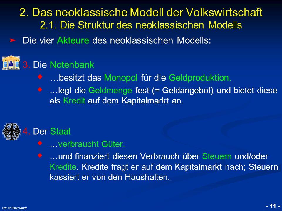 © RAINER MAURER, Pforzheim - 11 - Prof.Dr. Rainer Maurer 2.