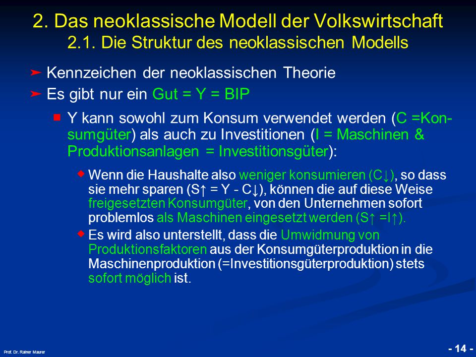 © RAINER MAURER, Pforzheim - 14 - Prof.Dr. Rainer Maurer 2.