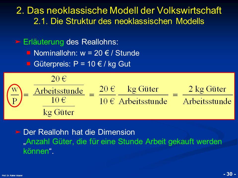 © RAINER MAURER, Pforzheim - 30 - Prof.Dr. Rainer Maurer 2.