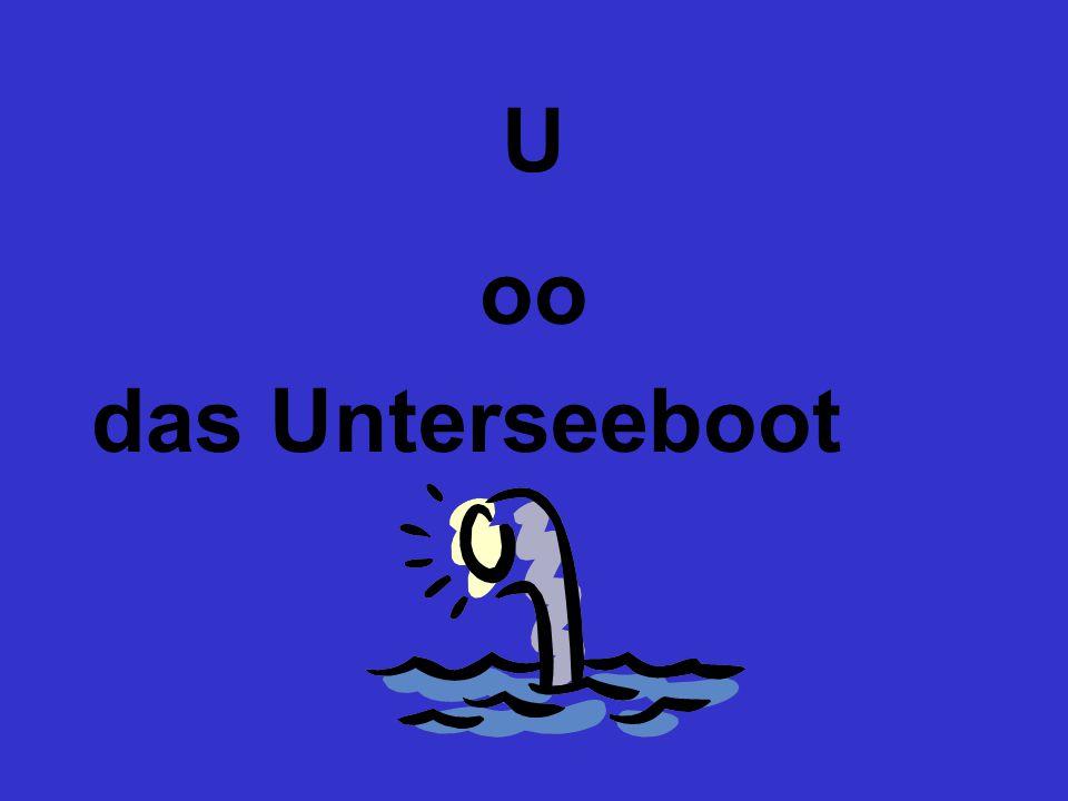 U oo das Unterseeboot