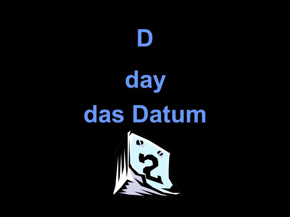 D day das Datum