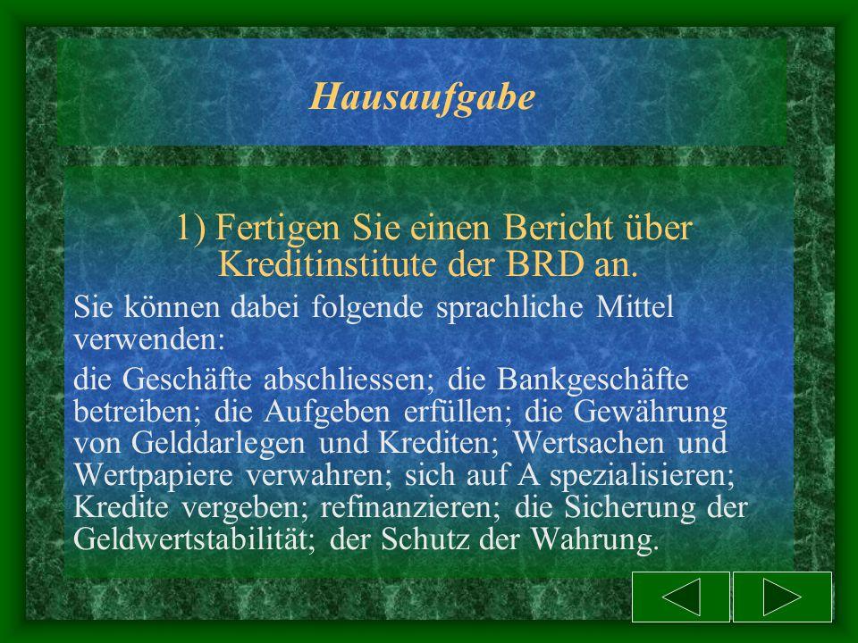 """Interviewen Sie den Direktor der Deutschen Bundesbank Guten Tag, Frau Gross. Ich heisse Erika Schulz, Ich bin Journalistin der """"Berliner Zeitung""""… Seh"""