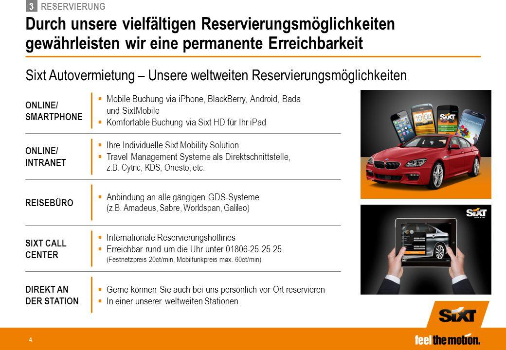 5.3 So kommen Sie zu Ihrem Mietwagen Variante 1 Online-Buchung via KVD Direktlink.