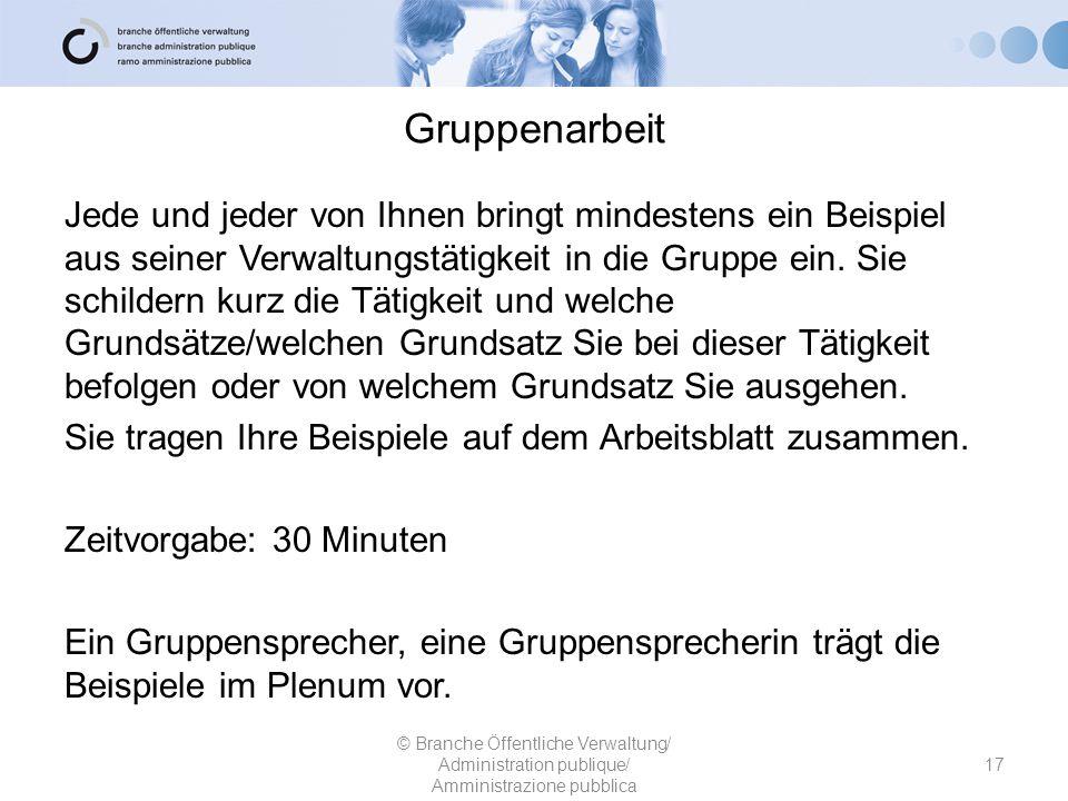 Beispiel für die Gruppenarbeit Die Lernende des Migrationsamtes bearbeitet ein Einreisegesuch.