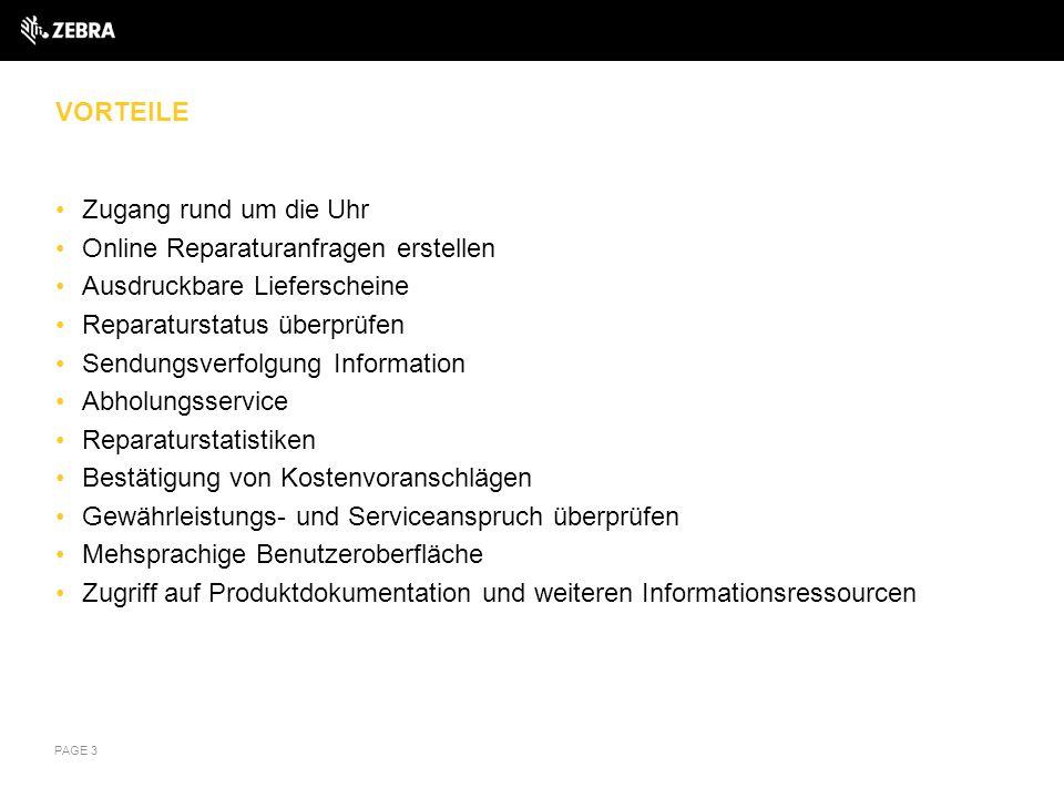 RMA PORTAL ÜBERBLICK Unter diesem Link finden Sie den Zugriff auf das RMA Portal https://www.zebra.com/us/en/support-downloads/request-repair/online- rma-emea.html https://www.zebra.com/us/en/support-downloads/request-repair/online- rma-emea.html Neue Kunden sollten auf den PSION Link unter Registrierung für eine Online Reparaturanfrage (RMA) klicken und das Anmeldeformular ausfüllen.