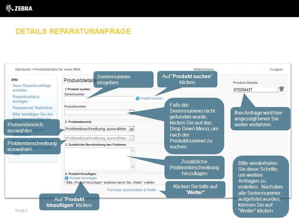 ABHOLUNG ORGANISIEREN – Gerät unter Vertrag mit Abholungsservice PAGE 19 Suchen Sie nach der Abholungsadresse oder wählen Sie eine Ihrer Adressen aus.