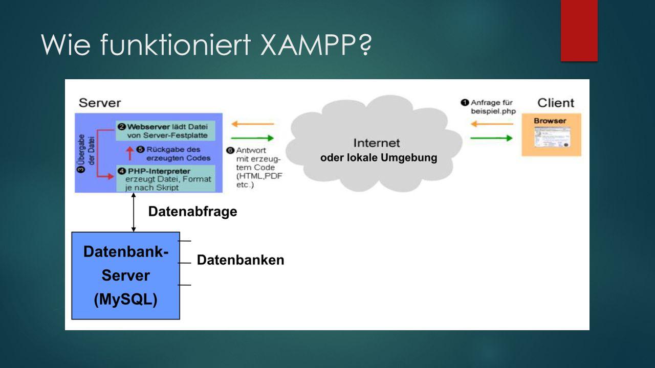 Wie funktioniert XAMPP?