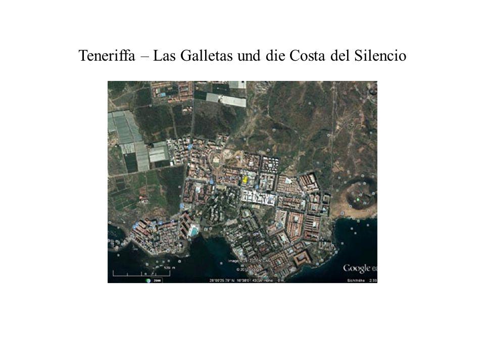 Teneriffa – Las Galletas und die Costa del Silencio