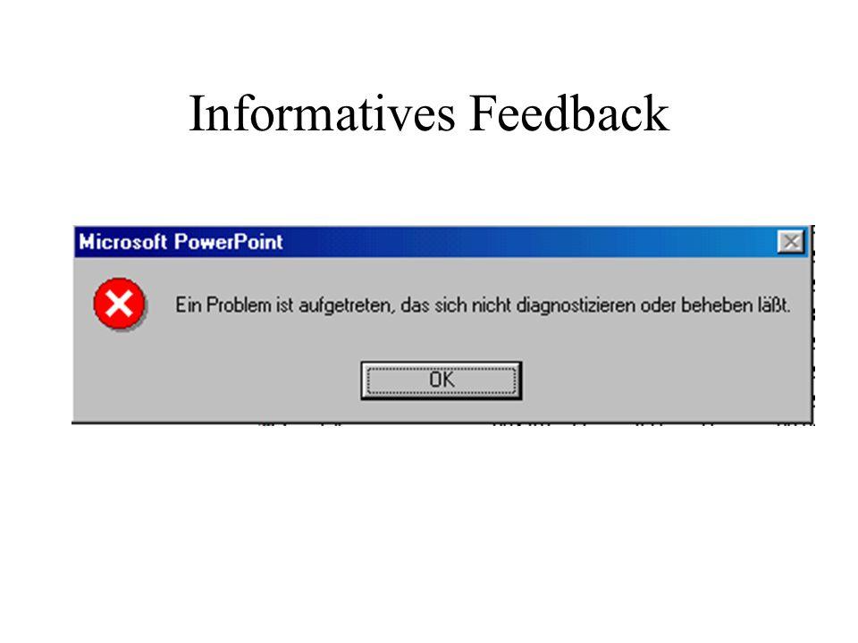 Informatives Feedback