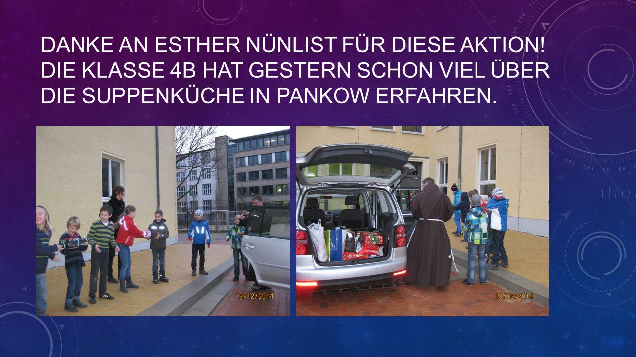 350 MENSCHEN WERDEN SICH ÜBER UNSERE VIELEN LIEBEVOLLEN GESCHENKE FREUEN !