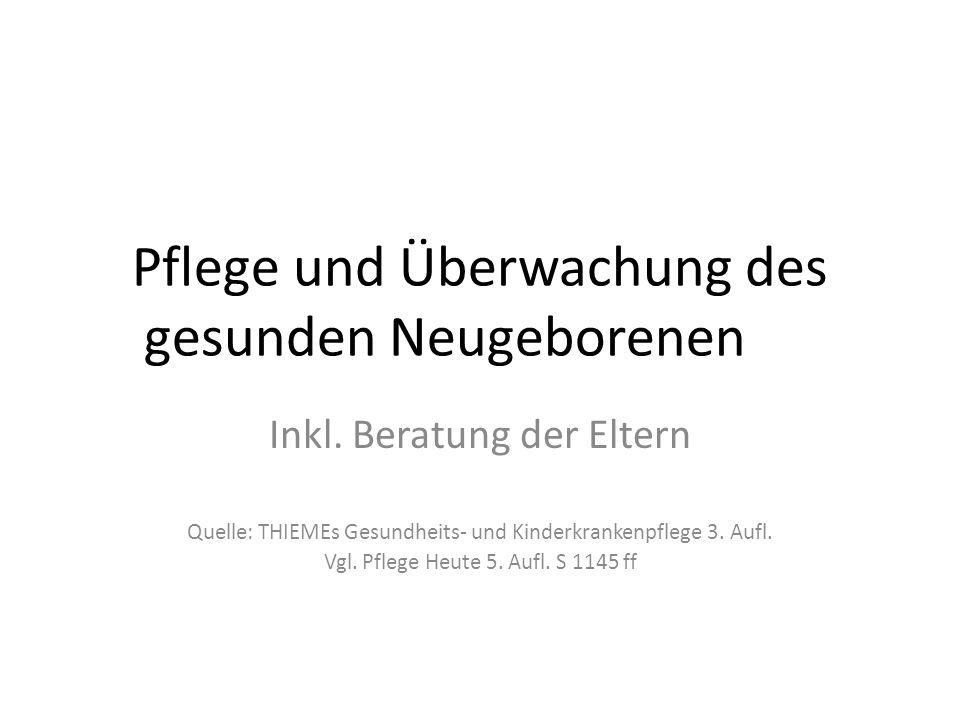 Physiologische Neugeborenenreflexe Saugreflex → bis 3.