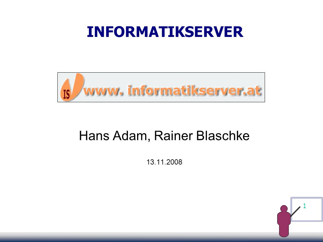 12 Informatikserver - Heute Überblick Meldungen Angebote Weiterleitungen Newsletter