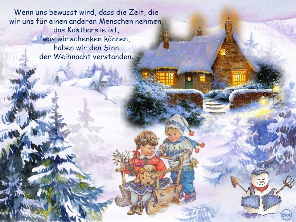 Was es auf dem Weihnachtsmarkt nicht alles zu kaufen gibt! Was fehlt, sind einzig die Dinge, die unser Herz wirklich begehrt.
