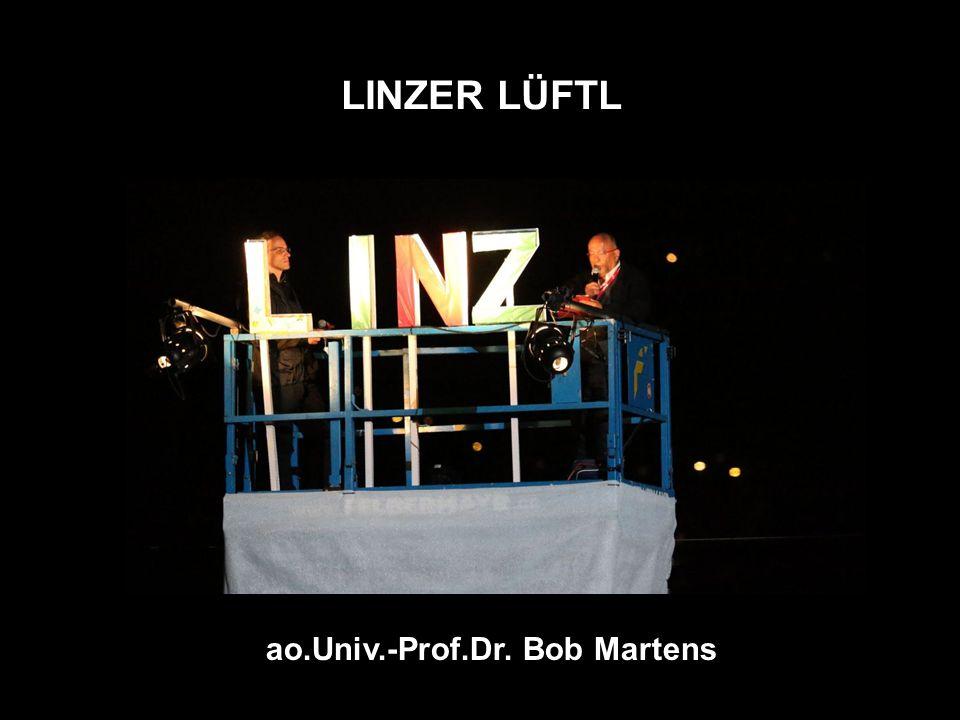 LINZER LÜFTL ao.Univ.-Prof.Dr. Bob Martens