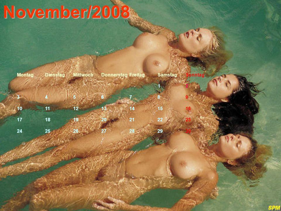 November/2008 MontagDienstagMittwochDonnerstagFreitagSamstagSonntag 1 2 3456789 10111213141516 17181920212223 24252627282930