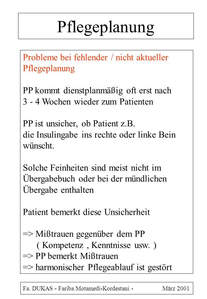 Pflegeplanung Fa.
