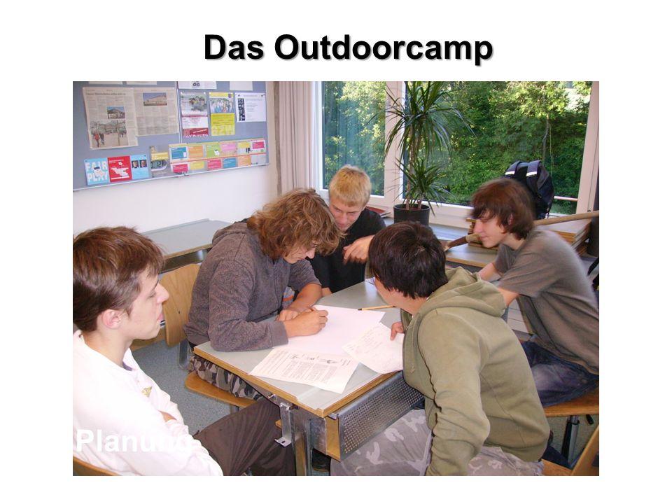 Das Outdoorcamp Planung