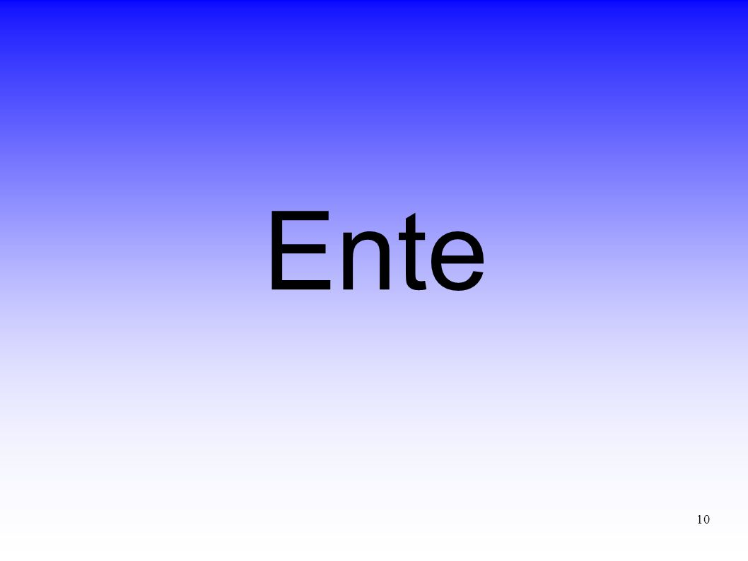10 Ente