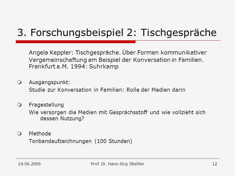 24.06.2009Prof. Dr. Hans-Jörg Stiehler12 3.