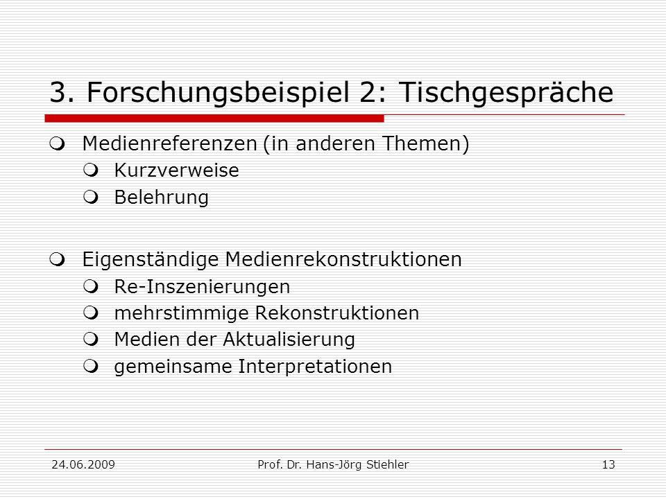 24.06.2009Prof. Dr. Hans-Jörg Stiehler13 3.