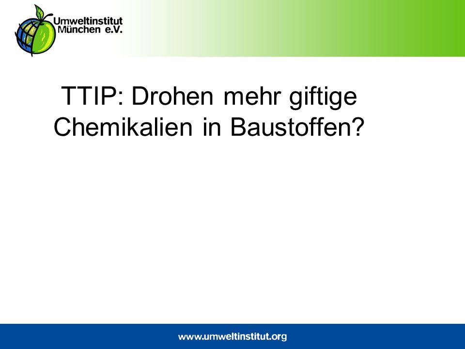 Regulatorische Kooperation Es ist geplant, das TTIP so zu gestalten, dass die beiden Parteien auch in Zukunft bei regulatorischen Entscheidungen kooperieren.