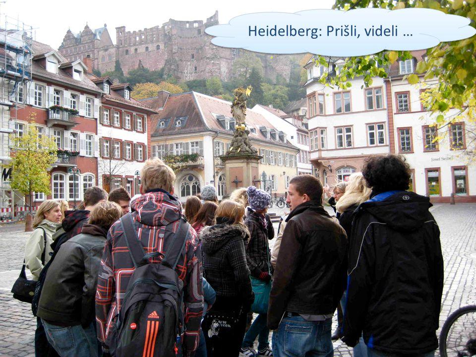 Heidelberg: Prišli, videli …