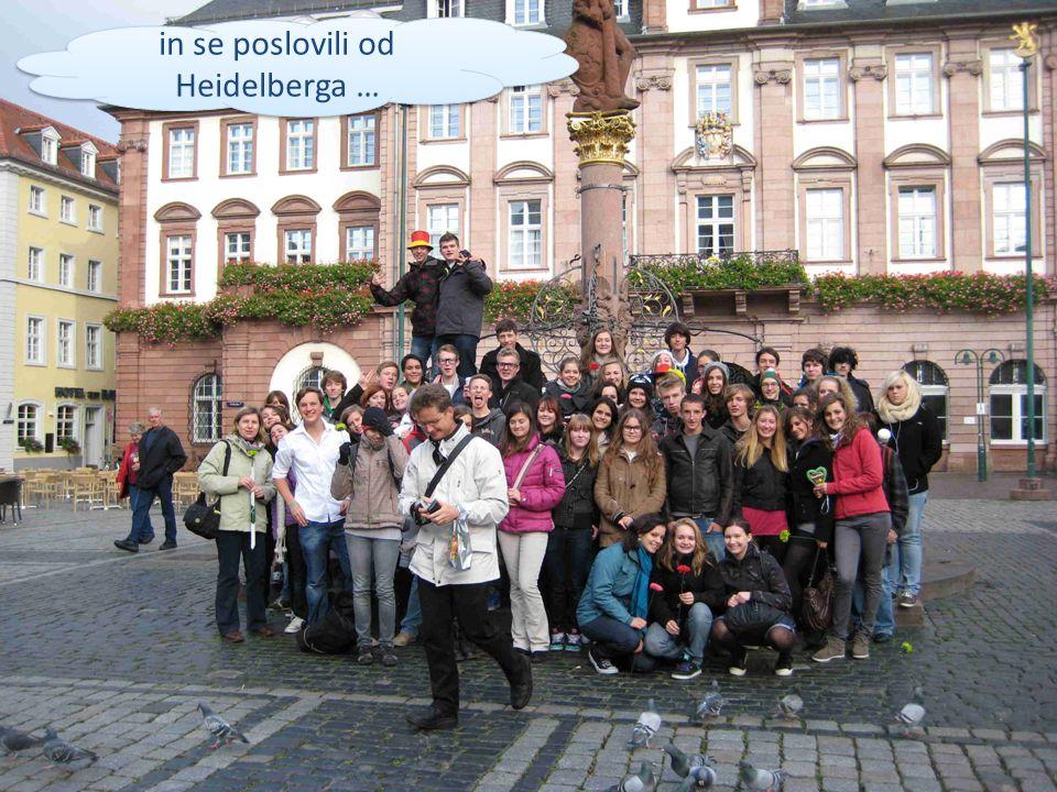 in se poslovili od Heidelberga …