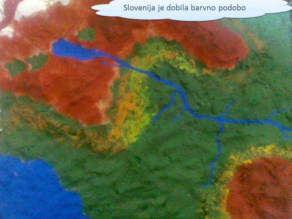 Slovenija je dobila barvno podobo
