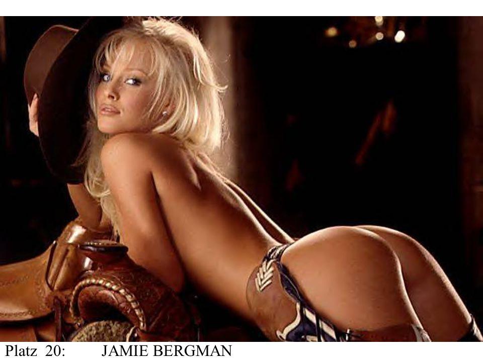 Platz 20:JAMIE BERGMAN