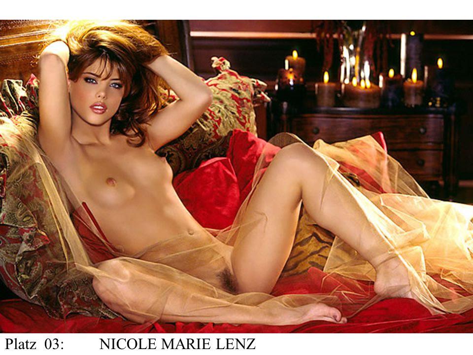 Platz 03:NICOLE MARIE LENZ