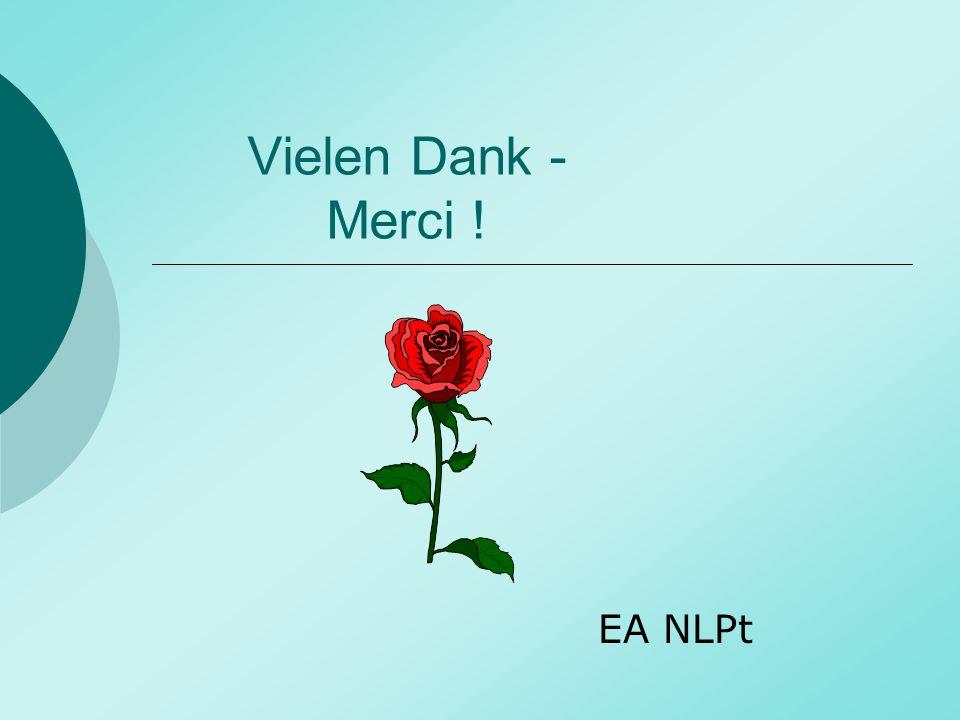 Vielen Dank - Merci ! EA NLPt