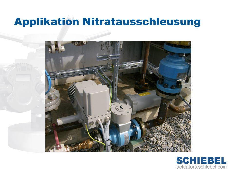 Applikation Nitratausschleusung