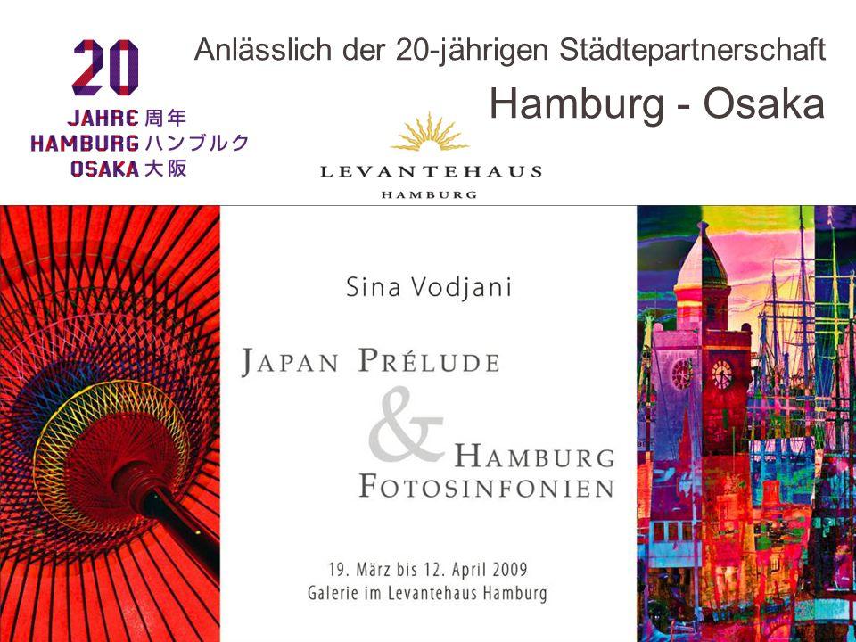Anlässlich der 20-jährigen Städtepartnerschaft Hamburg - Osaka