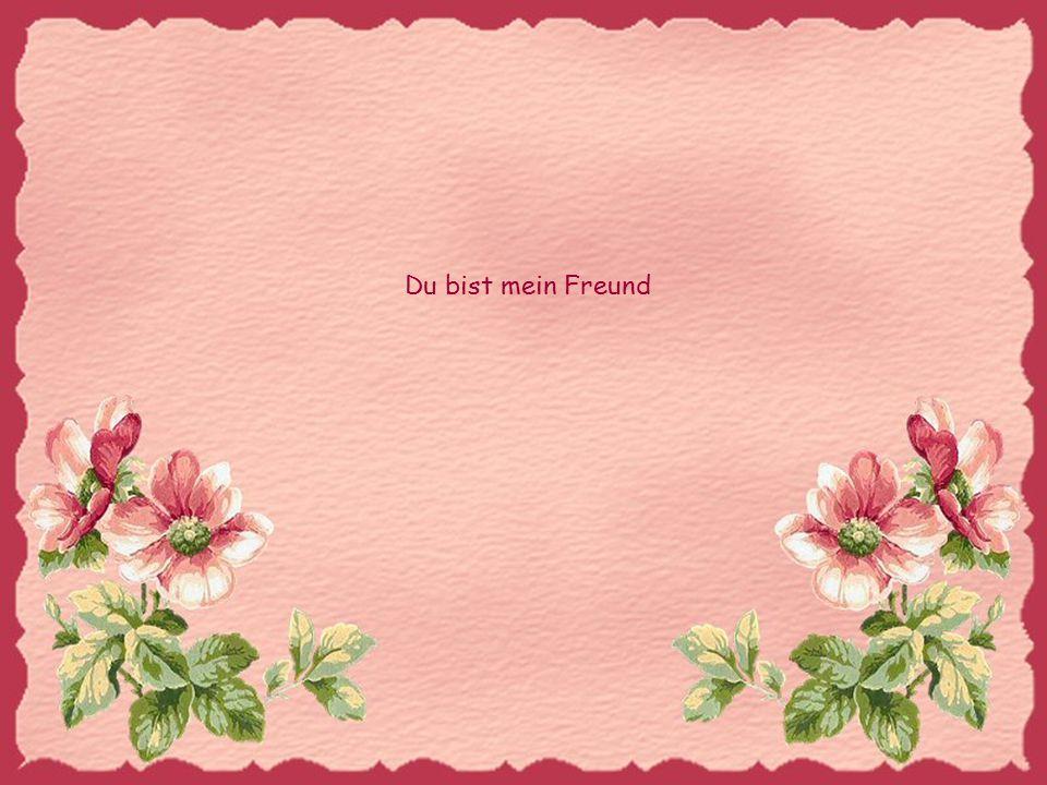 Du bist mein Freund