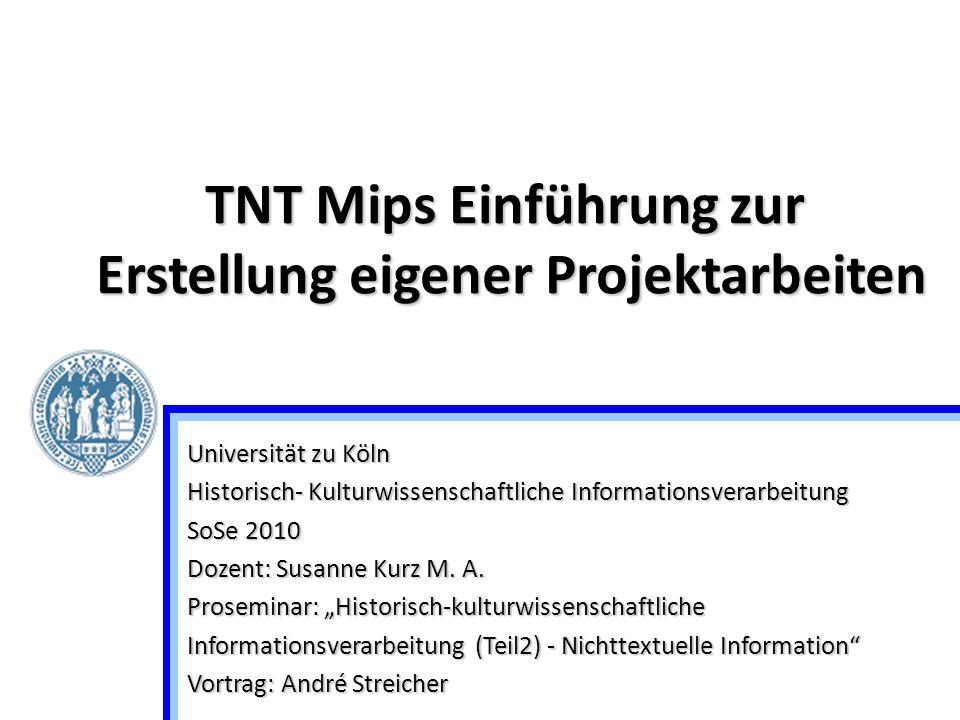"""Universität zu Köln Historisch- Kulturwissenschaftliche Informationsverarbeitung SoSe 2010 Dozent: Susanne Kurz M. A. Proseminar: """"Historisch-kulturwi"""