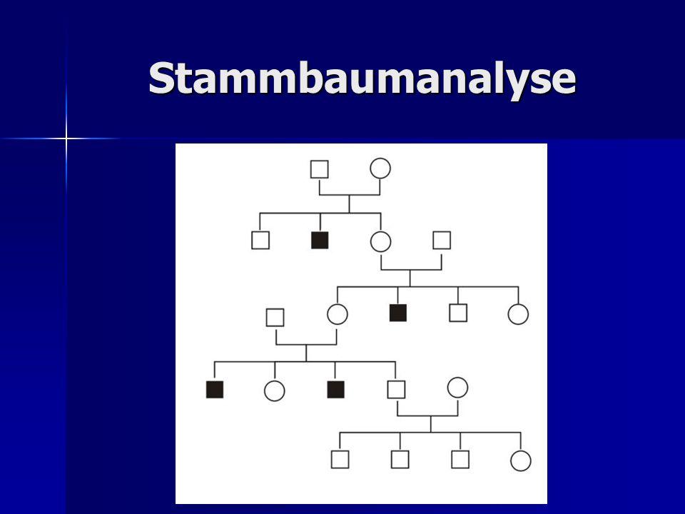Stammbaumanalyse