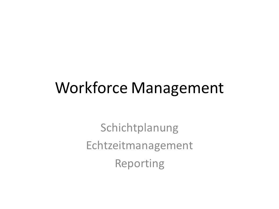 1.A Schichtplanung Gibt an wer zu welcher Zeit arbeitet Bietet die überschaubare, strukturierte Personaleinsatz-Planung Schichten der Mitarbeiter können fest vorgegeben werden