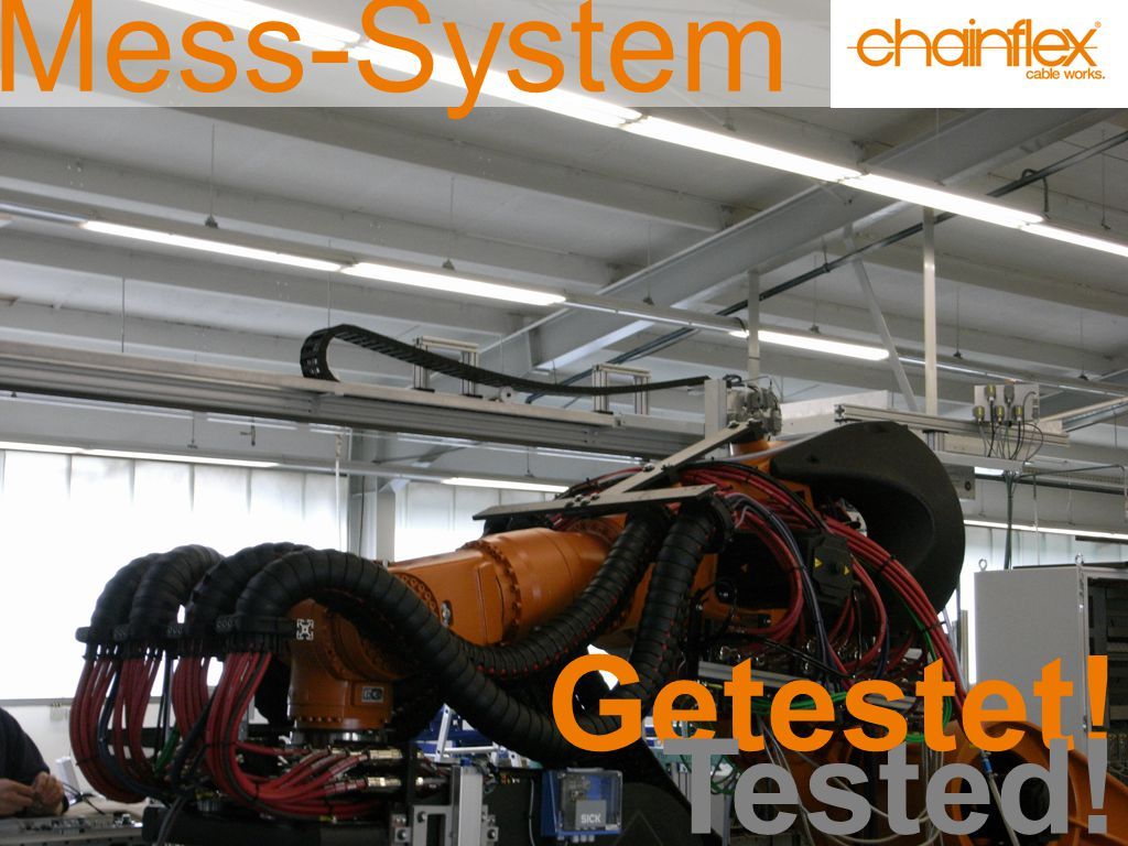 Mess-System Getestet! Tested!