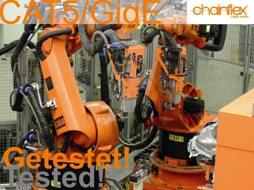 Einzelader ►CFROBOT tordierbar, UL/CSA CFROBOT for torsion, UL/CSA ►± 180° mit 3 Mio.