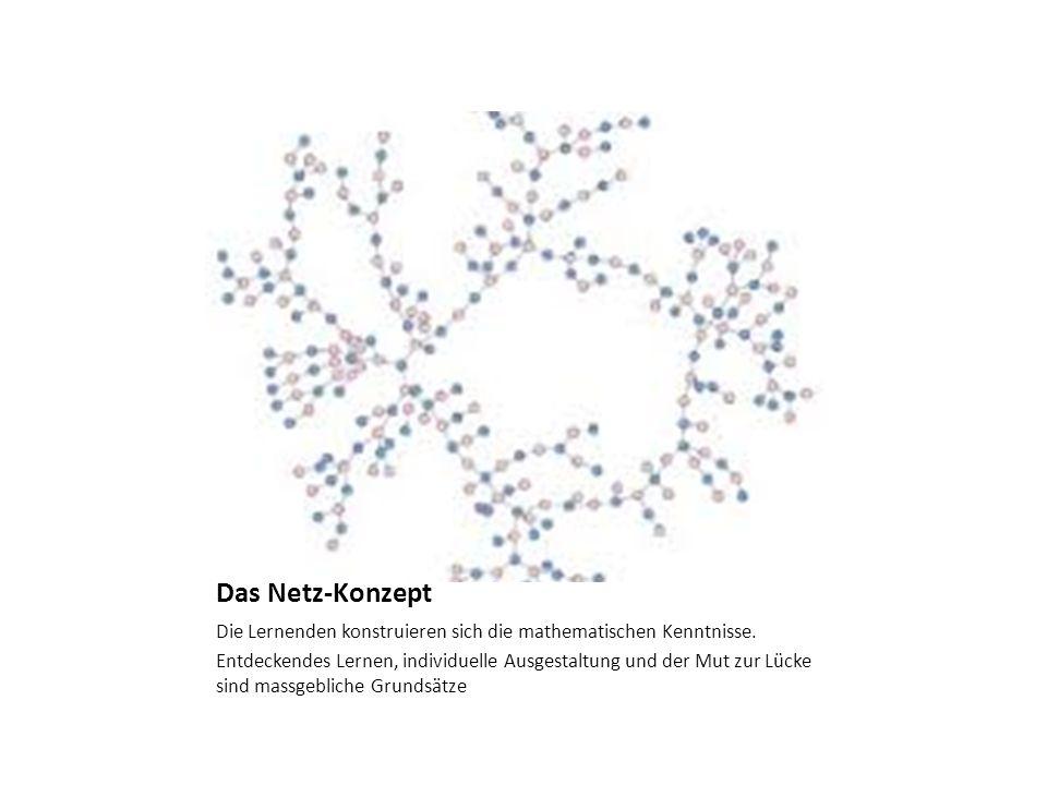 Das Netz-Konzept Die Lernenden konstruieren sich die mathematischen Kenntnisse.