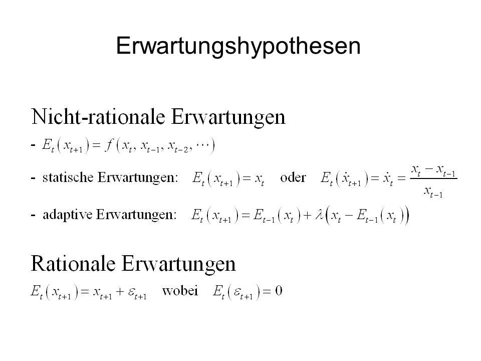 Erwartungshypothesen