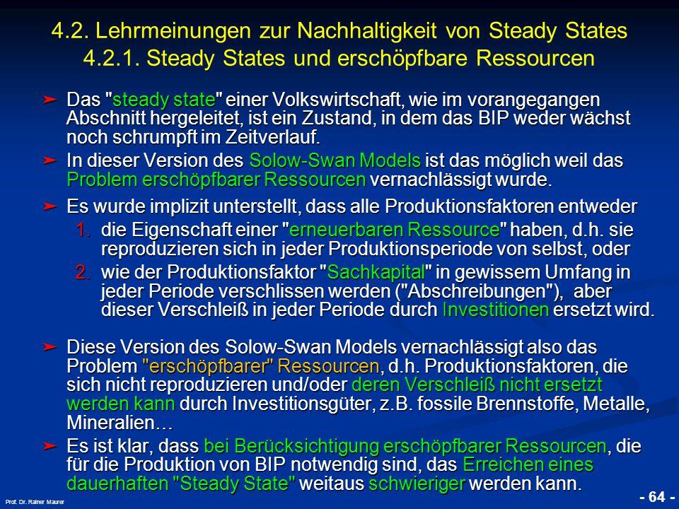 © RAINER MAURER, Pforzheim - 64 - Prof. Dr. Rainer Maurer ➤ Das