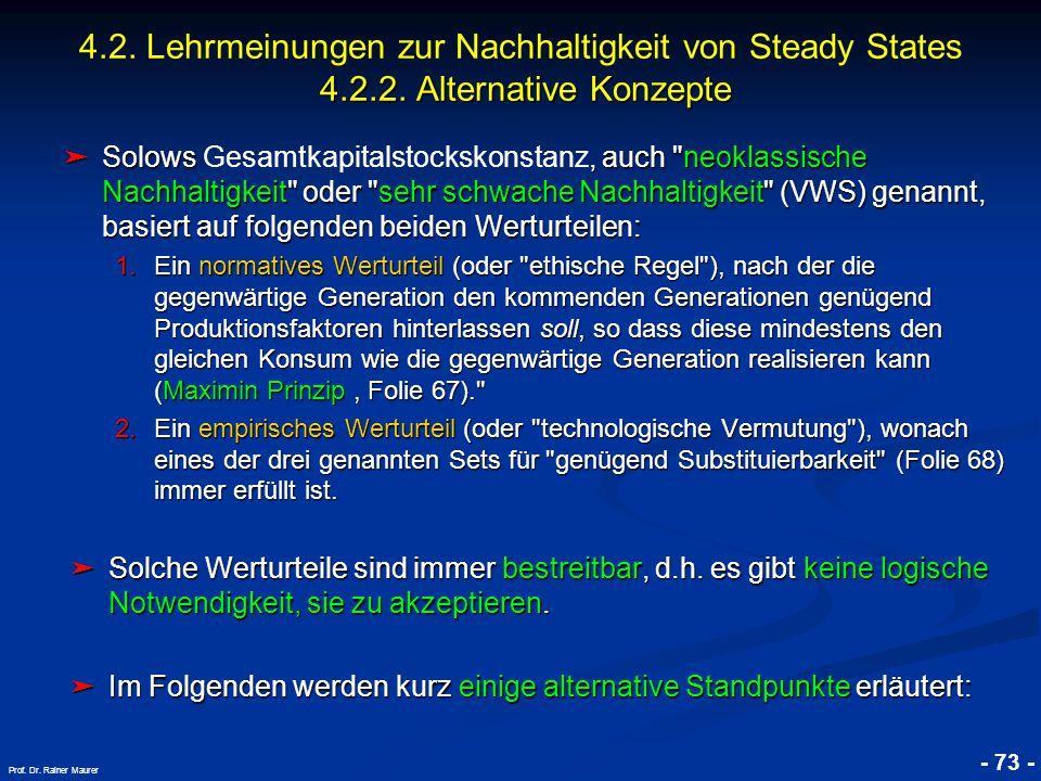 © RAINER MAURER, Pforzheim - 73 - Prof. Dr. Rainer Maurer ➤ Solows, auch