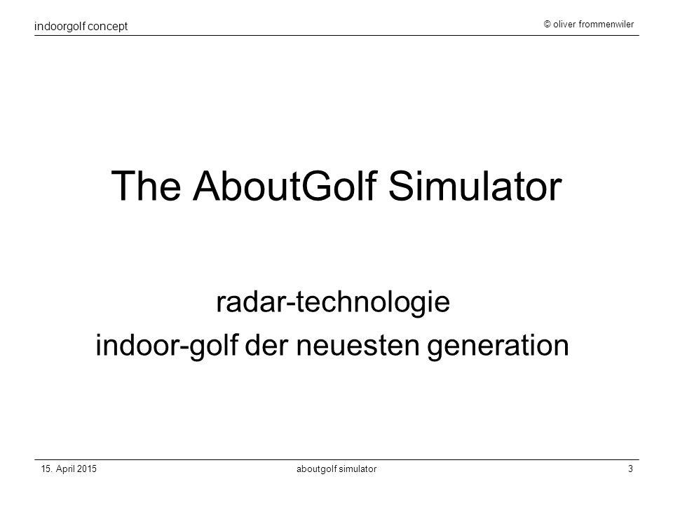 indoorgolf concept © oliver frommenwiler 15.