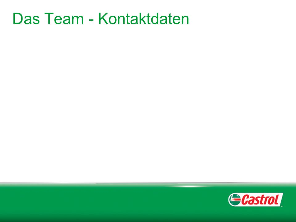 Das Team - Kontaktdaten
